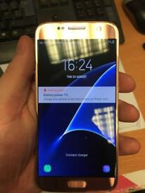 Samsung S7 Pink Gold 32GB boxed
