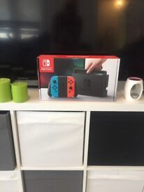 Nintendo switch boxed neon color only used twice brand new paid 400 will sell for 200 Ono