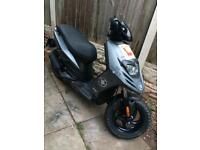 Piaggio typhoon 50cc 2stroke 61 plate one years m.o.t 3 owners