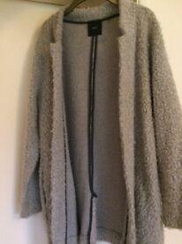 Next Ladies jacket fluffy size 16