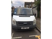 WHITE FORD TRANSIT