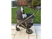 Uppa Baby Vista Pram/ Pushchair/ Buggy in Jake Black - Mint Condition