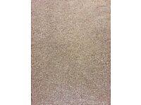 New Saxony light walnut carpet and luxury carpet underlay