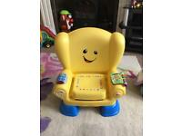 Fisher Price Yellow Chair Seat for baby toddlers