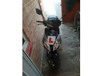 125 moped good condition few scratches two brand new tyres side stand ideal bike