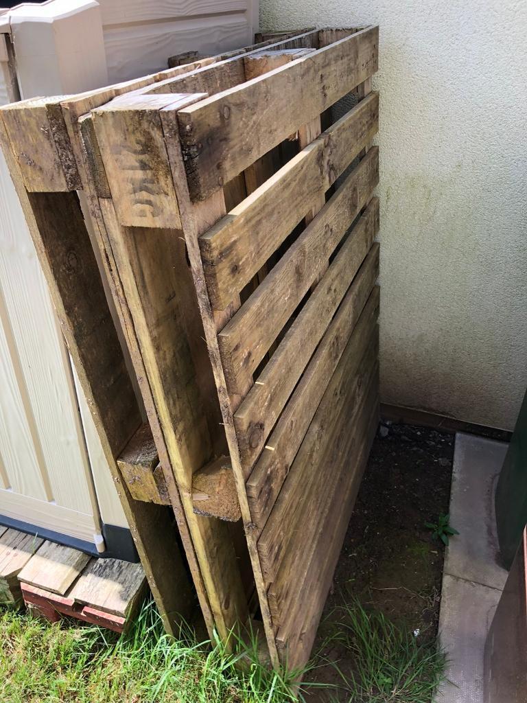 2x strong heavy duty wooden pallets | in Plymouth, Devon ...