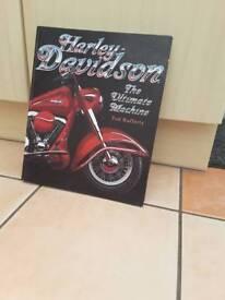 Harley Davidson The Ultimate Machine hardback by Tod Rafferty