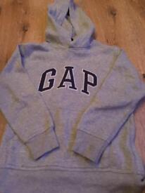 6/7 unisex gap hoody grey