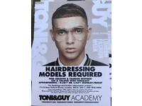 HAIRDRESSING MODELS REQUIRED