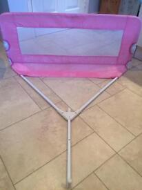 Tomy universal bed rail / guard (pink)