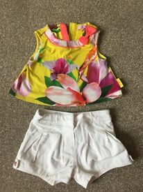 Ted Baker Short Set 12-18 Months
