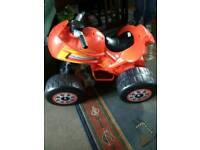 Childrens toy bike electric trike