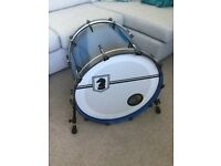 Dark Horse Percussion Custom Drums with Hard Cases