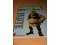 NEW Best of Shrek and Shrek 2 Flute Sheet Music (CD Accompaniment, Perfect for Christmas)