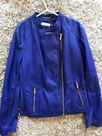 Calvin Klein size medium blue jacket