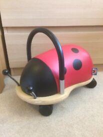 Wheely Bug Ladybird design