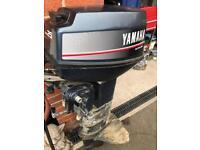 25 hp Yamaha autolube long shaft electric start outboard