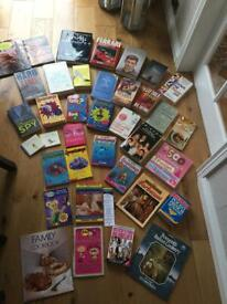 Box Of 37 Books - Very Wide/Varied Selection