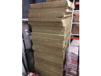 Rockwool Acoustic Insulation Slabs x 18 Peices 1200x1000x100mm