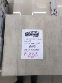 Job Lot Porcelain Tiles 60x60 (Total Sqm 14.40) £280