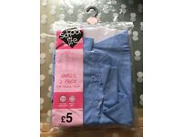 Girls school uniform 3/4 sleeve shirts