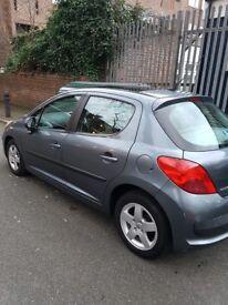 Just Passed Your Driving Test!! Peugeot 207 5 Door, Grey, 58,482 miles 11 Months MOT,