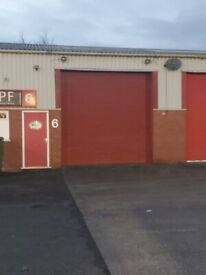 1850 sqft workshop to Let near Worcester suitable for Car Repairs with a space for a Spray Booth