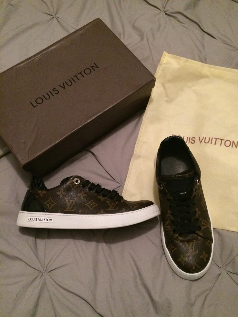 6328321d8f0af Louis Vuitton monogram trainers   sneakers   shoes 7   41 to match bag!