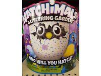 Brand new hatchimal glittering garden