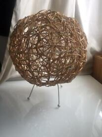 Habitat string wire lampshade brand new / RRP £30