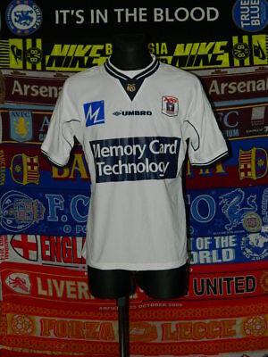 4.5/5 Aarhus adults M 2000 retro football shirt jersey trikot soccer image