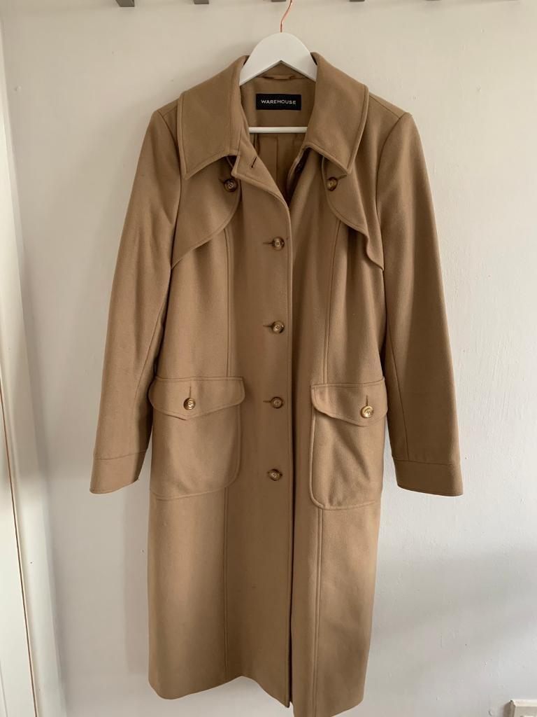 100% original great discount for street price Fab long Warehouse camel coat size 16 | in Holmfirth, West Yorkshire |  Gumtree