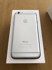 iPhone 6 64gb Unlocked Silver white