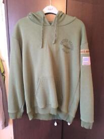 Topshop hoodie size 12