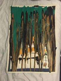 Abstract Modern Original Art painting