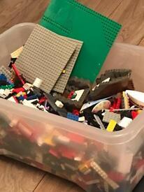 A Box of Genuine Lego