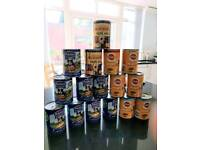 Pedigree and Butchers adult dog canned food x16