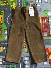 Jo Jo maman Bebe brown Cord Trousers