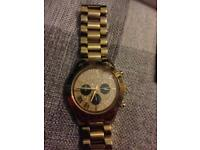 Used gold Michael kors watch