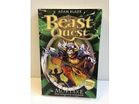 Beast Quest Paperback Book The Skeleton Warrior by Adam Blade - £1