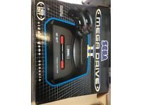 brand new Sega mega drive 16 bit console