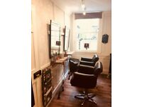 Hairdresser/ treatment room for rent