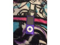 Purple iPod nano 8gb
