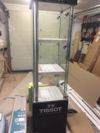Tissot Display Cabinet with Lockage Storage & Lights