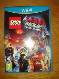 Nintendo Wii U Game The Lego Movie Videogame As New Condition