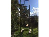 Heavy duty steel scaffold tower £240-00