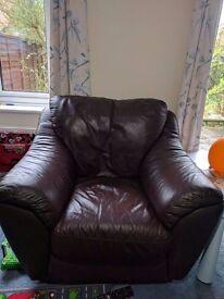 Leather Sofa Set 3+1+1