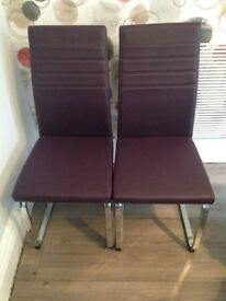 Alcora Dining Chairs x 2