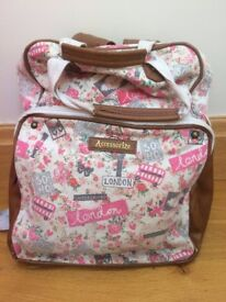 Backpack with London detailing