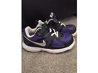 Girls Size 9 Nike trainers